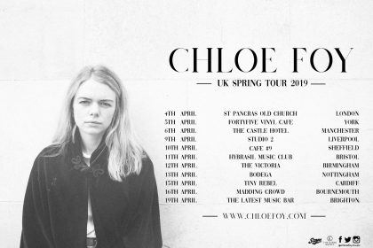 Chloe Foy BBC One To Watch 2019 Tour!