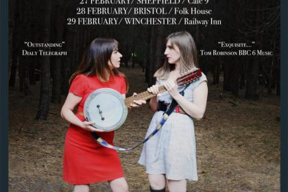 Polly Paulusma and Annie Dressner heading out on an acoustic co-headline tour Feb 2020!