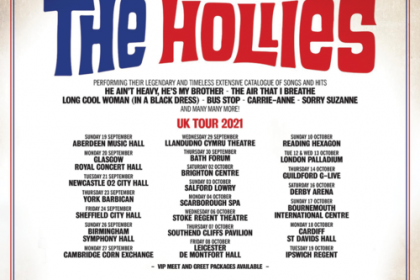The Hollies, have announced a huge UK tour for Autumn 2021